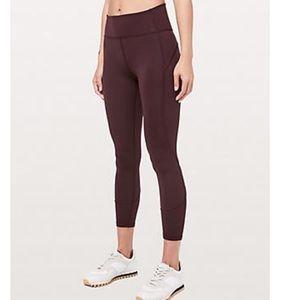 Like New Gray Purple Lululemon Pants